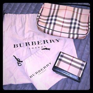 Authentic Burberry purse & wallet 👜